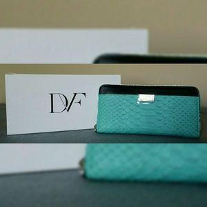 Diane von Furstenberg Zip Around Wallet